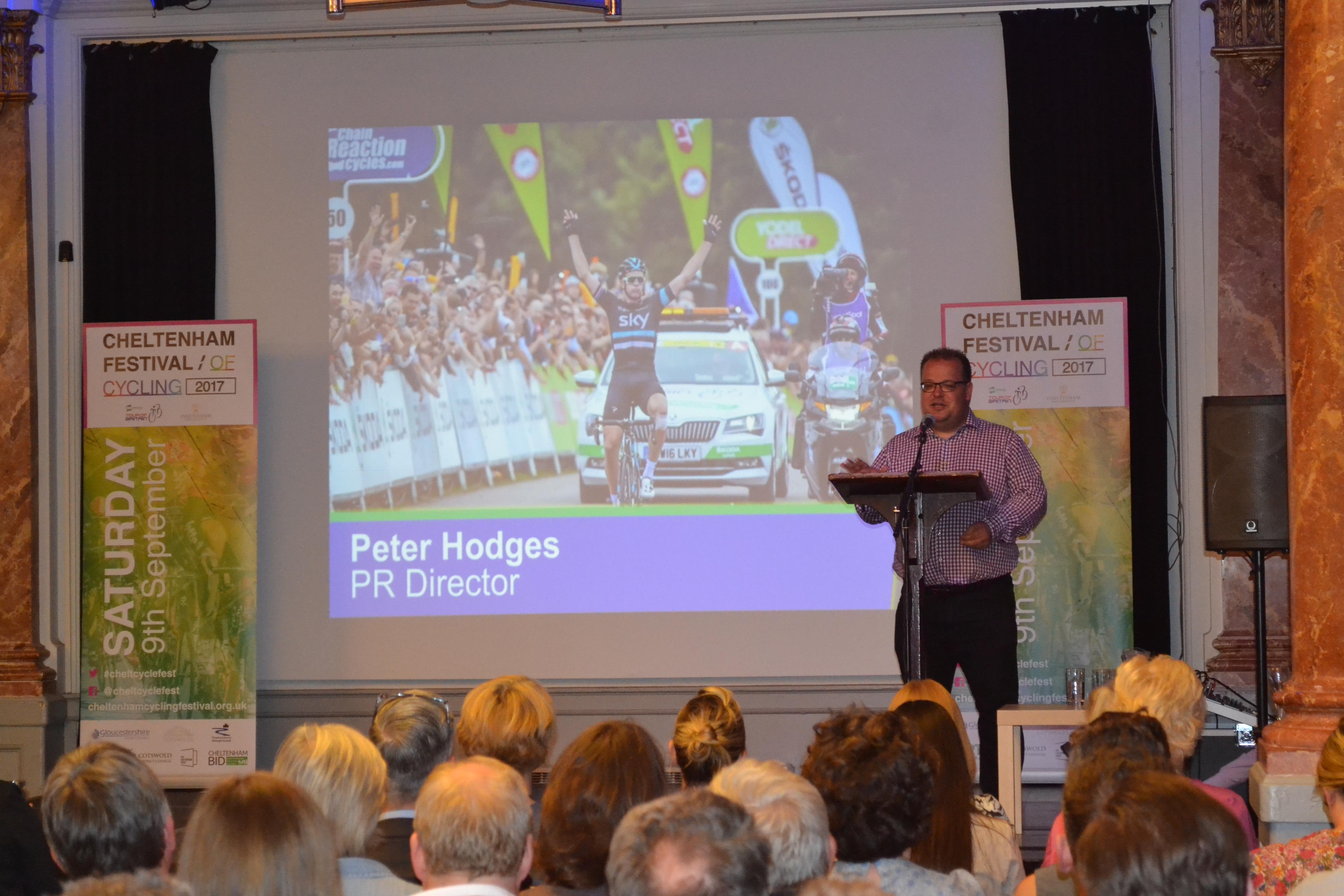 Peter-presenting