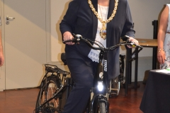 Mayor-electric-bike-pose