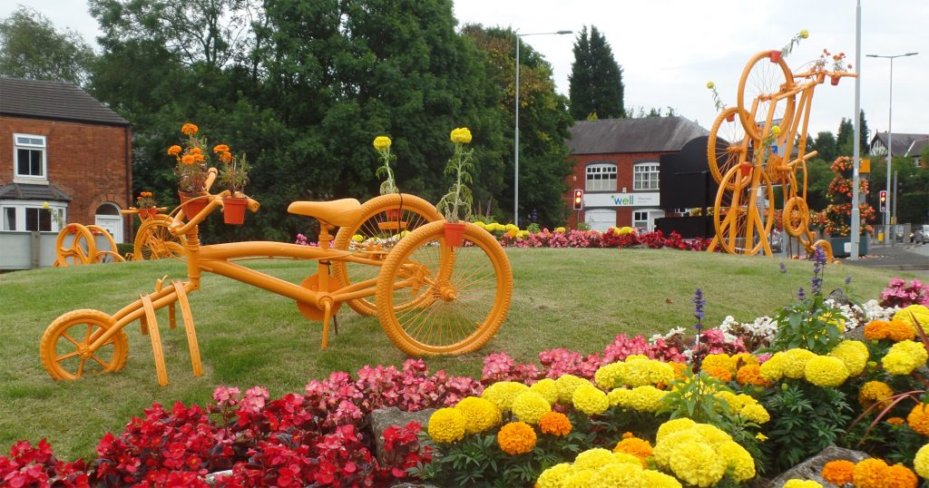 Previous bike trail in Cheshire