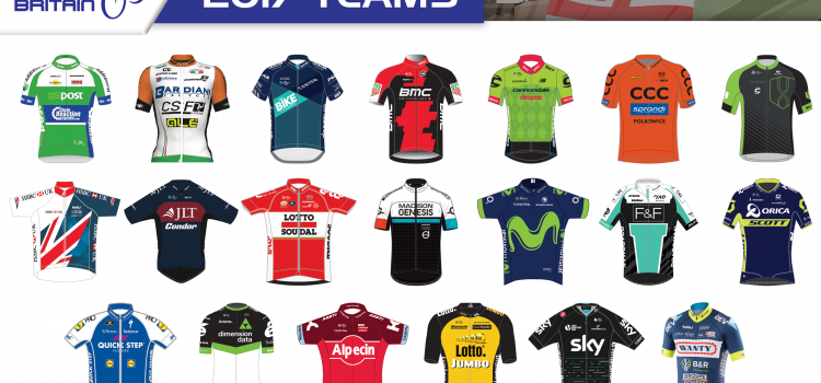 Teams announced for the OVO Energy Tour of Britain
