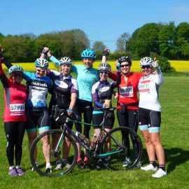 image of dames cycling club
