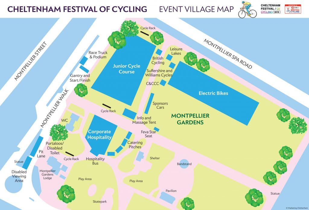 CFOC September 2019 event village map
